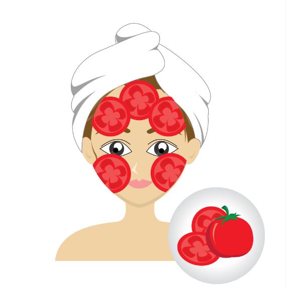 mascarillas caseras tomate