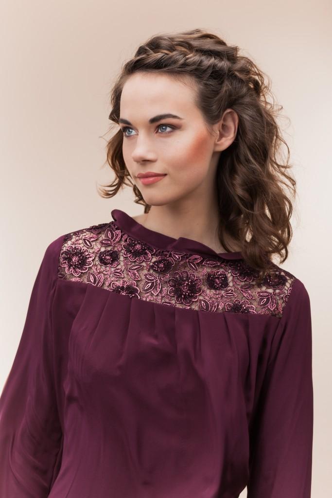 En el caso del cabello de largo medio lo mejor es lucirlo suelto con ondas desparejas, que brindan un look muy moderno.
