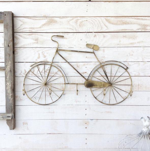 Casa con bicicletas