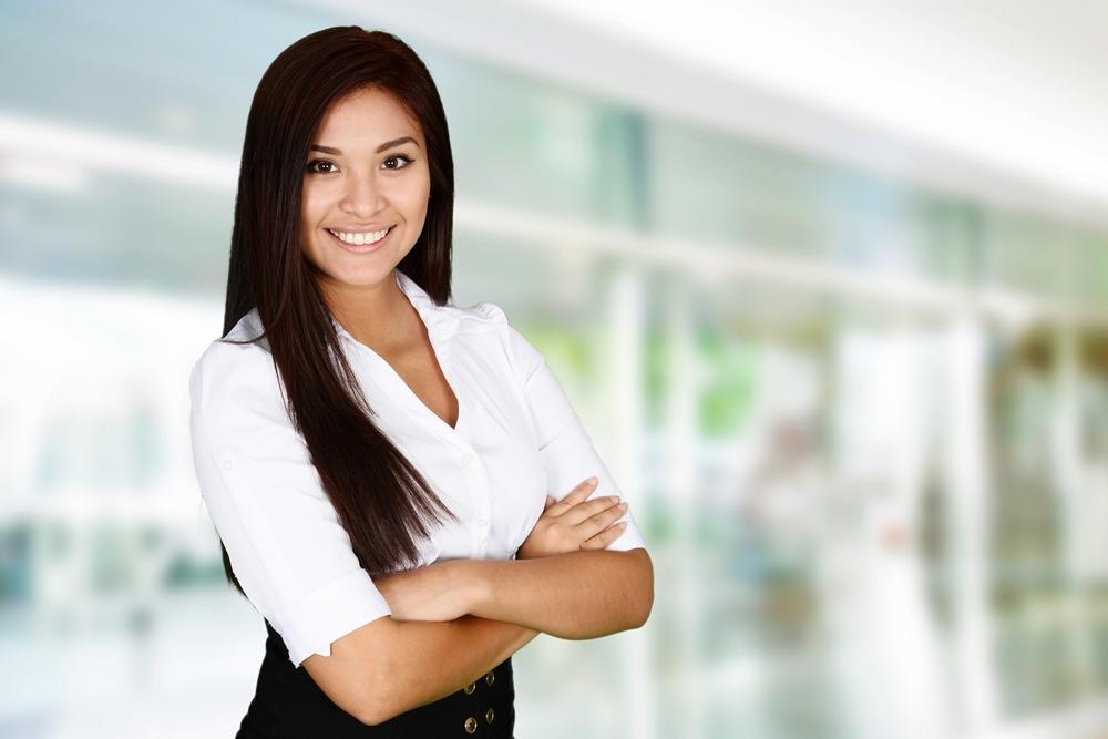 mujer líder