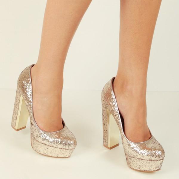 Zapatos de fiesta de tacón