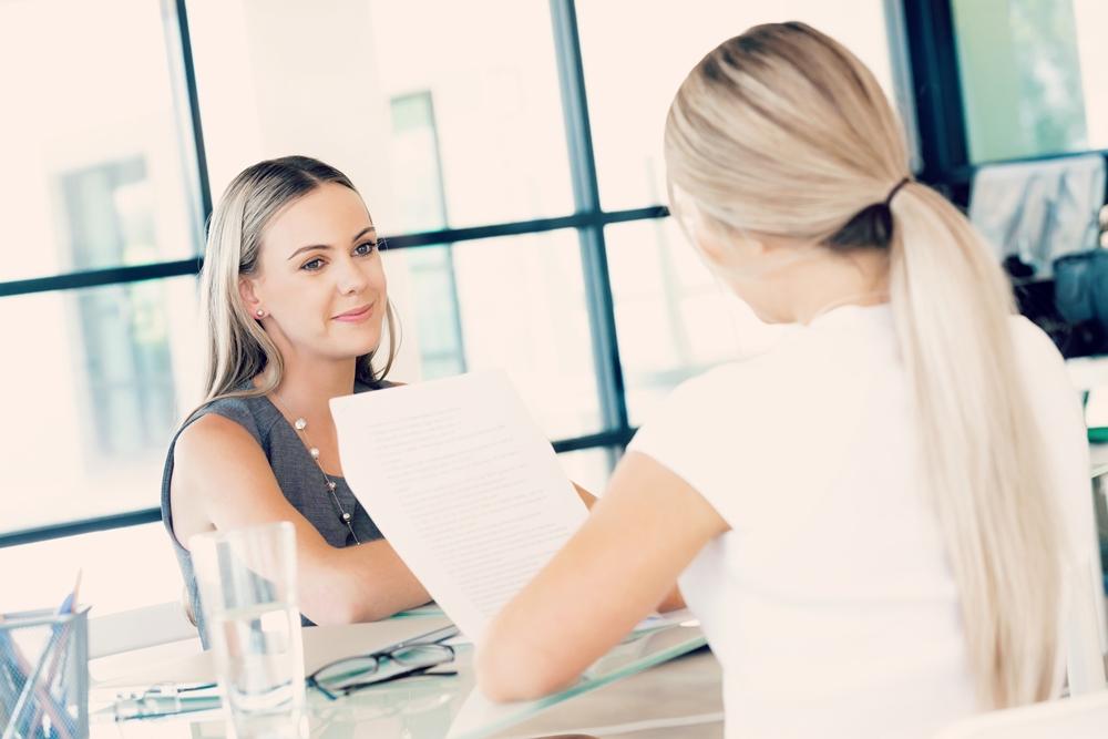 triunfar en una entrevista